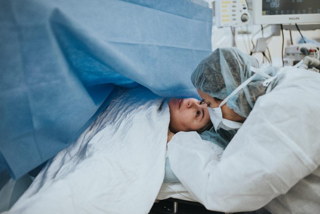 shameless cesarean birth